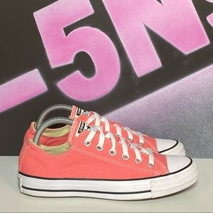 Converse All Star Pink Canvas Low Shoes